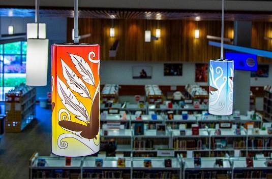 Indigenous Light Covers City Centre